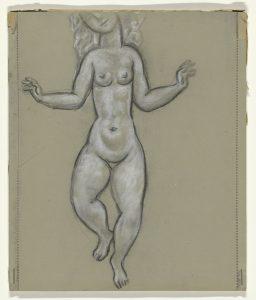 The Rijksmuseum, Amsterdam RP-T-1960-303 - Susan Power, Danseur d'herbe