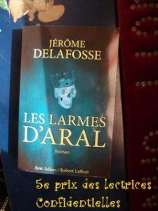 Jérôme Delafosse, Les larmes d'Aral