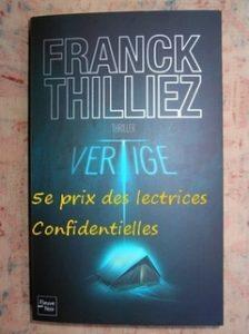 Franck Thilliez, Vertige
