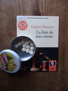 Grégoire Delacourt, La liste de mes envies, lu par Odile Cohen