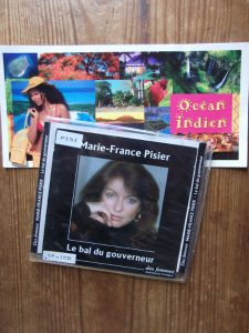 Marie-France Pisier, Le bal du gouverneur, lu par l'auteure