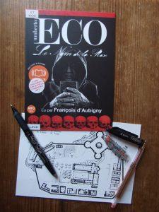 Umberto Eco, Le nom de la rose, lu par François d'Aubigny