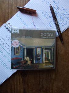 Nicolas Gogol, Le journal d'un fou, lu par Jérôme Kircher
