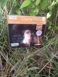 Chantal Thomas, Le testament d'Olympe, lu par Élodie Huber