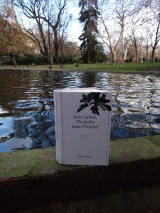 Toulouse, Grand Rond - Jean Carrière, Un jardin pour l'éternel