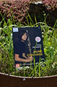 Gilda Piersanti, Jaune Caravage, lu par Hélène Lausseur