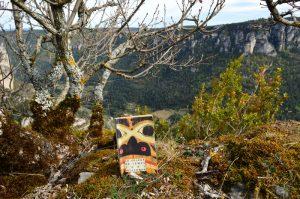Tony Hillerman, Le voleur de temps - Gorges de la Jonte, roc de Baumo Rousso