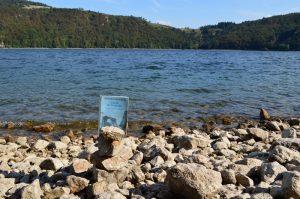Lac d'Issarlès - L'arche des Kerguelen de Jean-Paul Kauffmann