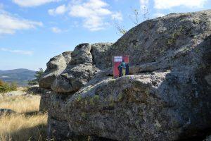 Massif de l'Aigoual, col de Faubel - Blaireau se cache de Tony Hillerman