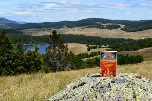 Massif de l'Aigoual, lac des Pises - James D. Doss, les ossements du chaman