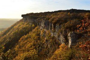 Causse du Larzac, au-dessus de Saint Beaulize