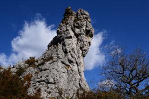 Causse du Larzac - Rocs du Lauradou
