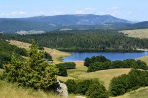 Massif de l'Aigoual - Lac des Pises