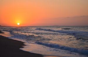 Vendres-plage - Lever de soleil