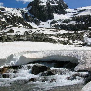 Tusse de Montarque -  Au-dessus du cirque d'Espingo, à 2 889 m d'altitude