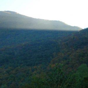 Col d'Esputs, 1 277 m - Premiers rayons de soleil d'automne...