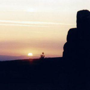 Coucher à la Cham des Bondons - Mont Lozère, vers les Laubies