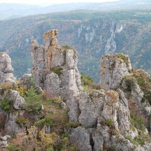 Rochers de Roquesaltes - Causse Noir, Aveyron