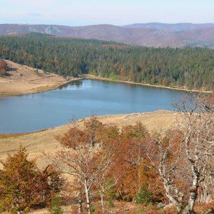 """Le Lac des Pises - """"le Grand Pas"""", Massif de l'Aigoual"""