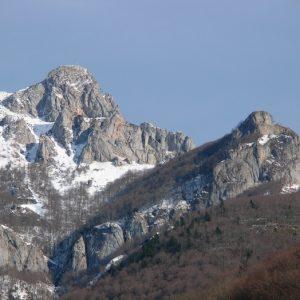 Pic du Gard (alt. 1785m.),et Pic du Prat Dessus (alt. 1756m.) vallée de Fronsac