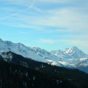 Pics d'Estaragnes et Pic du Midi de Bigorre, vu de Port de Pierrefite