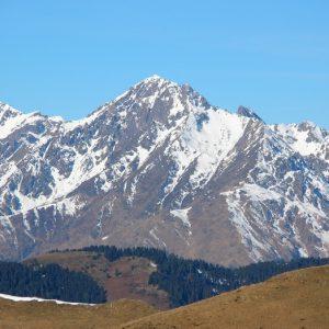 L'Arbizon (2381m.) vu du Pic Arrouy (1850m.)