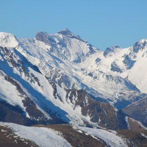 Pic de Lustou (?) 3020m. , vu du Pic Arrouy
