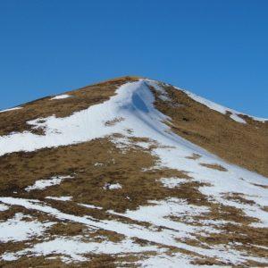 le Pic du lion (2102m.), vu du Col de Louron (2001m.)