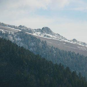 Pic de Bacanère, vu de Sarrouègère - Luchonnais