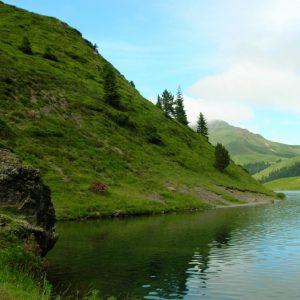 rive ouest du Lac de Bareilles