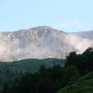 vu sur Soum de l'Escalette (2466m.)