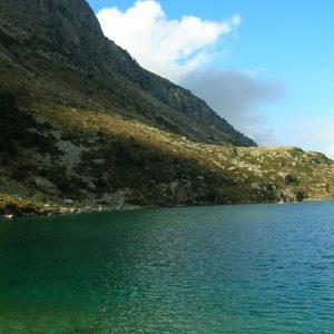 Lac d'Estom, rive sud