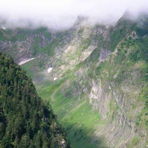Vallée (glacière) de la Frêche - Pyrénnées (Luchon)