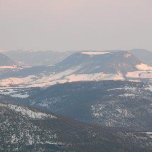 Vue de Montjaux sur la vallée du Tarn