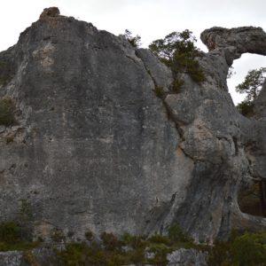 Rocher de Roquesaltes - Causse Noir, Aveyron