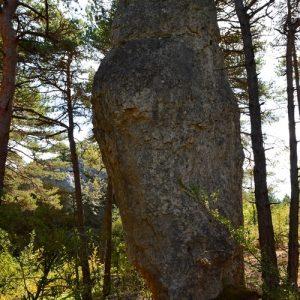 monolithe naturel - Forêt du Causse Noir