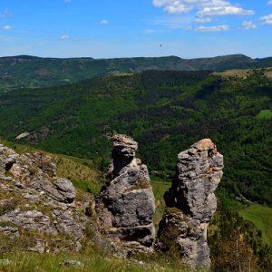 rocs au dessus de la Vallée du Tarnon