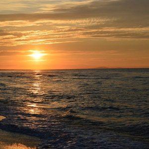 lever de soleil sur la Méditerranée