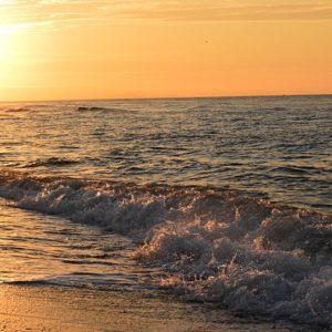 lever à Vendres plage (Hérault)