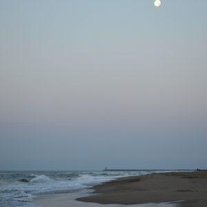 un soir de septembre à Vendres plage