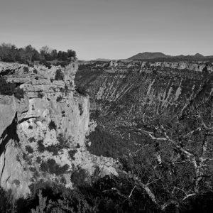 Gorges de la Vis (vue du nord du Larzac)