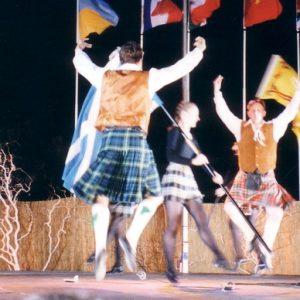 Tayside Folk Dance & Music de Dundee - Figure de la danse des épées