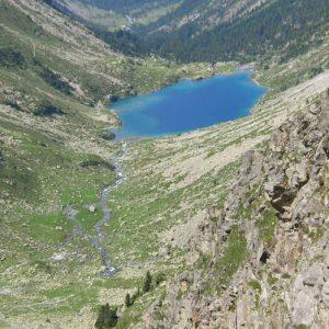 Gave et lac d'Estom - De retour du sentier des lacs...
