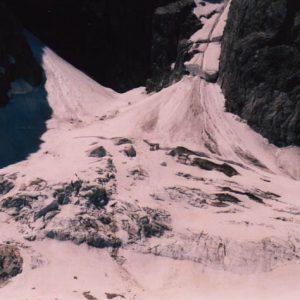 Glacier des Oulettes - Glacier au pied du Vignemale à 2 509 m, qui recule comme tout les glaciers des pays tempérés...