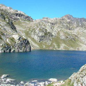 Lac Nère - Au sud, le déversoir du lac