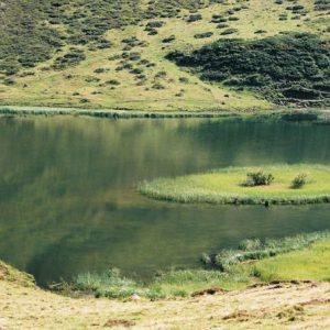 Lac d'Aygue Rouye - Altitude... 1 620 mètres