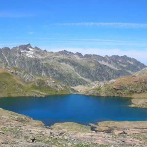 Lac Couy et pic d'Estibe Aute