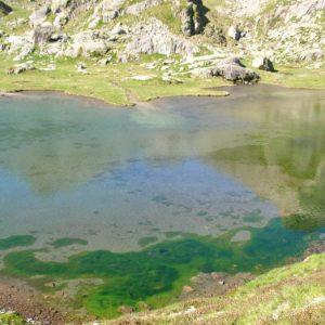 Lac de l'Embarrat - Arrivée au lac supérieur