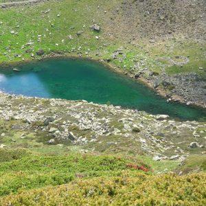Lac Noir - Petit lac en aval du lac d'Ilhéou