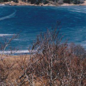 le lac des Pises qui gèle...